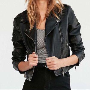 Urban outifitters BDG shrunken Moto leather jacket